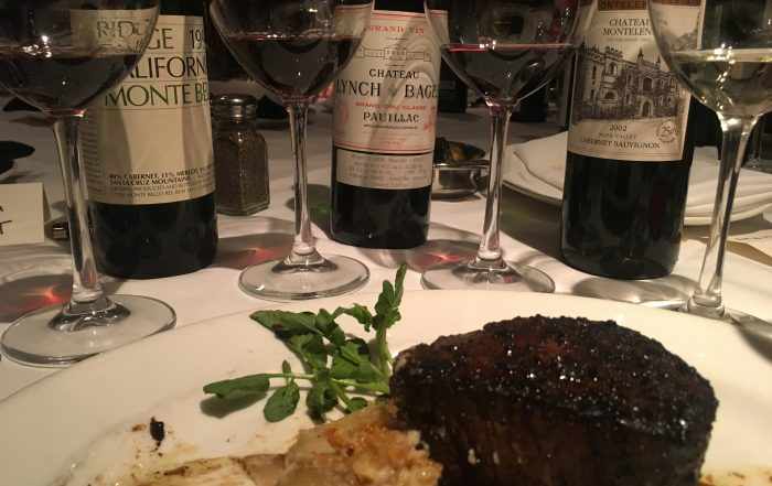 lynch-bages, ridge vineyards, chateau montelena
